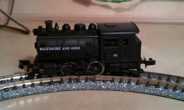 Netduino controlled PWM model railway controller - Andrew